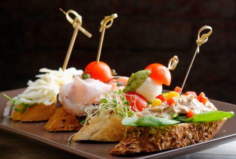 Закуски «пинчос» из Страны Басков